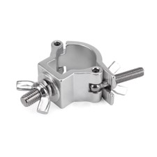 Riggatec Halfcoupler Small Silver max. 75kg (32 - 35 mm) stainless steel - RIG 400 200 968