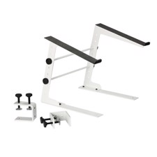 Adam Hall Laptop Stand with Clamp white - SLT 001 W