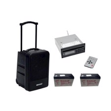 OMNITRONIC Set MOM-10BT4 Modular wireless PA system + CD Player
