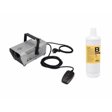 EUROLITE Set N-10 silver + B2D Basic smoke fluid 1l