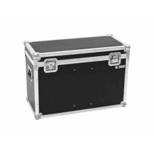 ROADINGER Flightcase 2x LED THA-100F/THA-120PC