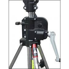 Manfrotto 087NWB Wind Up Stativ Sort