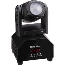 Mini LED moving beam - BEAM-40/WS - IMG STAGE LINE