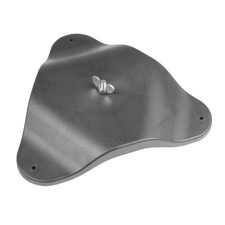 Adam Hall Floor and Wall Mounting Plate for all PAR16/36/56/64 PAR Spots