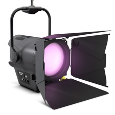 Cameo F4 FC PO IP Pole-Operated Outdoor Fresnel Spotlight with RGBW LED - IP65,  570 W LED, 10,000 lm