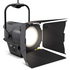 Cameo F4 T PO IP Pole-Operated Tungsten Fresnel Spotlight - IP65, 520 W LED, 3,200 K, 24,000 lm