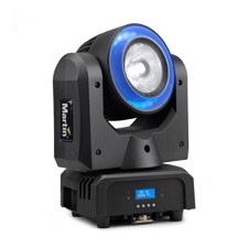 Martin RUSH MH 10 Beam FX - Super Compact LED beam light with RGBW color mixing and LED pixel ring
