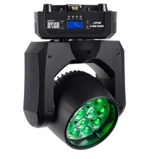 Martin RUSH MH 6 Wash - Compact single lens wash light with RGBW color mixing, 12 x 10 W RGBW LEDs