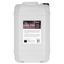 JEM Pro-Fog Fluid, Extra Quick Dissipating 25 liter. co2 effekt (erstatter Pro Steam Simulation)
