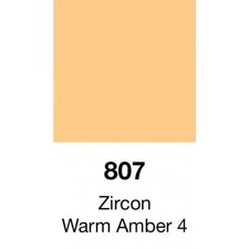 Lee ark 807 LED Filter Ark – Warm Amber 4 / 4000K til 3000K - 61 x 61 cm