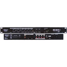 Rolls RM69, 6 channel single rack space audio mixer