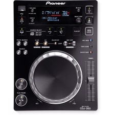 Pioneer CDJ-350 CD-AFSPILLER, rekordbox-ready digital deck