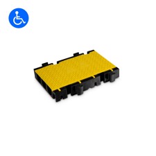 Defender 3 2D HV - Defender 3 2D modular system for wheelchair ramp and barrier-free transition - Middle section half version