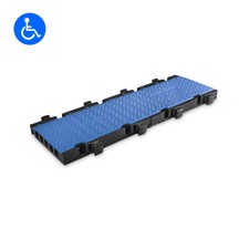 Defender MIDI 5 2D BLU - Midi 5 2D module system for wheelchair ramp and barrier-free transition - middle part blue lid