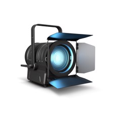 Cameo TS 200 FC - Theater Spot with Fresnel Lens and 200 W 6-in-1 LED in black Housing