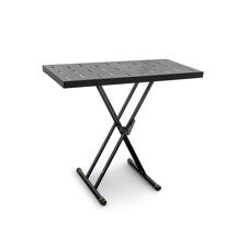 Gravity KSX 2 RD - Set with keyboard stand X-Form double and rapid desk