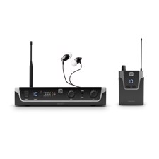 LD Systems U308 IEM HP - In-Ear Monitoring System with Earphones - 863 - 865 MHz + 823 - 832 MHz