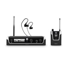 LD Systems U508 IEM HP - In-Ear Monitoring System with Earphones - 863 - 865 MHz + 823 - 832 MHz