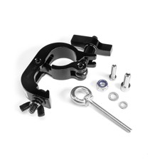 RIGGATEC 400205801 - LD Systems Installation Kit with Half Clamp up to 250 kg (48 - 51 mm) + Mounting Accessories