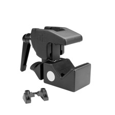 Adam Hall Accessories SUPER CLAMP MK2 - Universal Hook Clamp with Clamping Lever black - VERSION 2