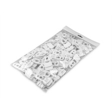 Adam Hall Accessories MIDI CLIP WHI M50 AH - Bag Article Midi Clip for Molton white ( 50 Pcs. )