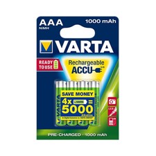 VARTA Batterien Rechargeable Accu 5703 - Rechargeable Battery - AAA Micro - 1000 mAh