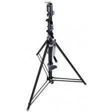 Wind-up stativ - 3,7m./30kg. Manfrotto 087NWB