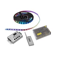 EUROLITE Set LED Pixel Strip RGB 5m + Controller + Transformer 5V