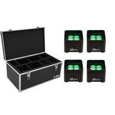 EUROLITE Set 4x LED TL-4 Trusslight + Case