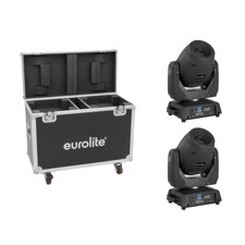 EUROLITE Set 2x LED TMH-X12 + Case