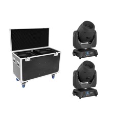 EUROLITE Set 2x LED TMH-X12 + EU Case