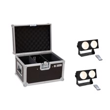 EUROLITE Set 2x LED CBB-2 COB WW Bar + Case