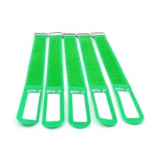 GAFER.PL Tie Straps 25x260mm 5 pieces green