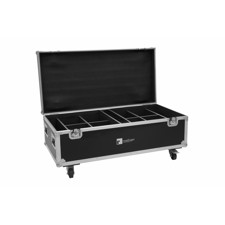ROADINGER Flightcase 8x AKKU IP PAR 7 QCL WDMX with charging function
