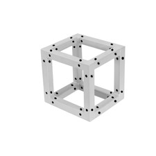 DECOTRUSS Quad Corner Block sil