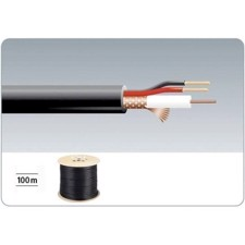 Video/DC kabel 100m - VSC-103/SW - MONACOR