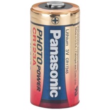 Batteri lithium - CR-123 - PANASONIC