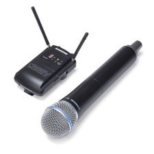 Concert88 Handheld Camera System, Frequency-Agile UHF Wireless Handheld Camera System
