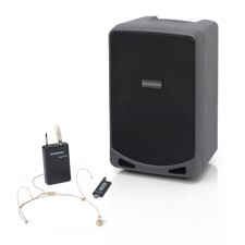 Samson XP106wDE, Rechargeable Portable PA with Headset Wireless System and Bluetooth®