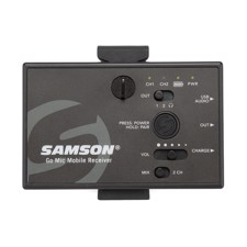 Samson Go Mic Mobile Receiver, Receiver for the Go Mic Mobile system