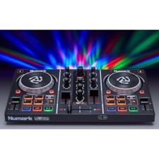 Numark Party Mix, DJ Controller with Built In Light Show, includes Serato DJ Lite