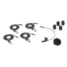 SAMSON LM8x, Omnidirectional lavalier microphone - four adapter cables included