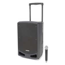 "Samson XP312w, Rechargeable 12"" Portable PA with Handheld Wireless System and Bluetooth®"