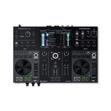 DENON DJ PRIME GO - Rechargeable Battery-powered, Standalone DJ controller with WiFi Streaming