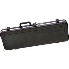 Rectangular case for electric guitar (not Gibson® Les Paul®) with TSA-approved locks. - SKB-66