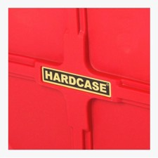 "Med hjul. - Hardcase 40"" Hardware Case Red"
