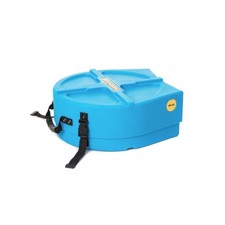 "Hardcase 14"" Snare Drum Case Light Blue"