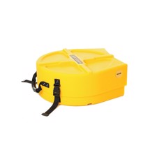 "Hardcase 14"" Snare Drum Case Yellow"