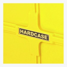 "Med hjul. - Hardcase 40"" Hardware Case Yellow"