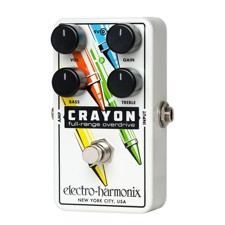 Electro Harmonix Crayon Overdrive - A versatile overdrive that lets you draw your own OD-paintings.